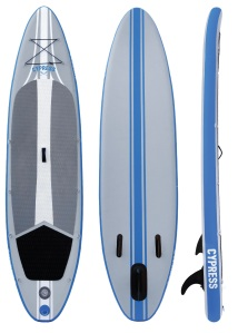 Cypress Paddle Board design front back and side