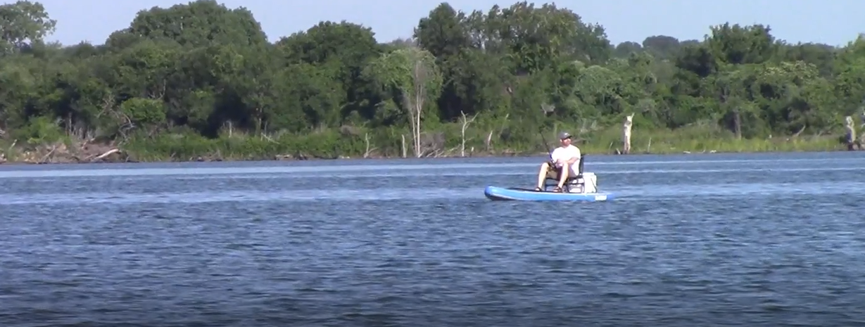 Waco fishing with larry chair - SMALL