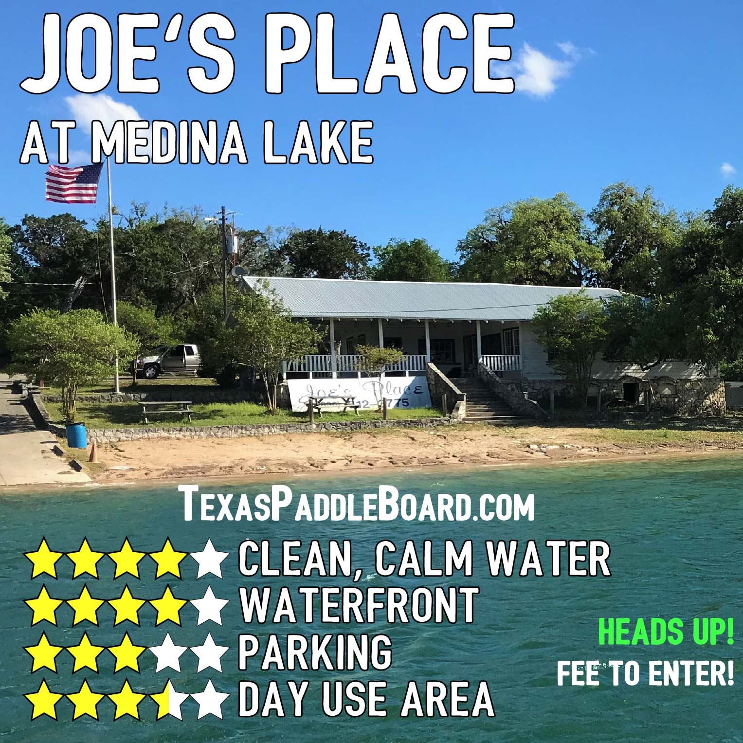 Joes Place at Medina Lake-01