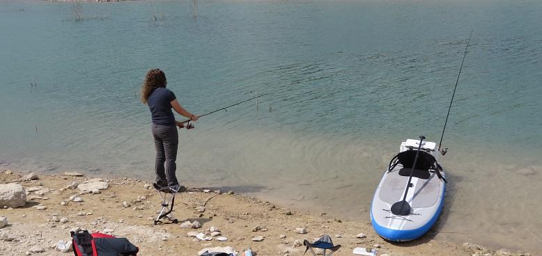 Medina Lake Park fishing small